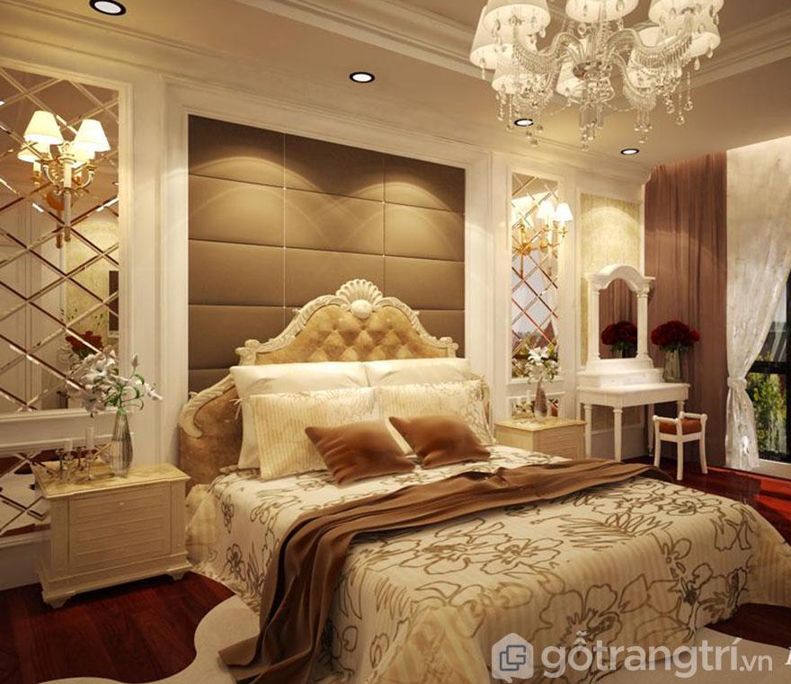 Mẫu giường cưới đẹp 2020 phong cách Châu Âu
