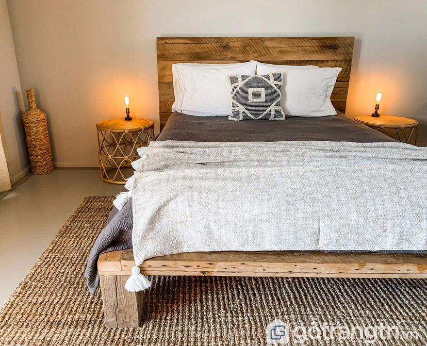 Mẫu giường cưới đẹp 2020 phong cách Vintage