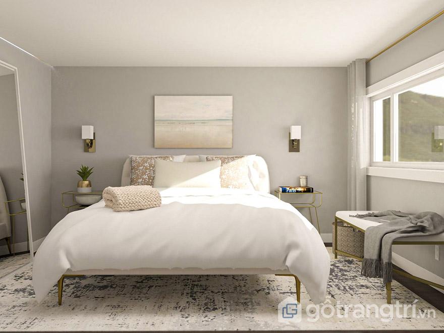Mẫu giường cưới đẹp 2020 hiện đại