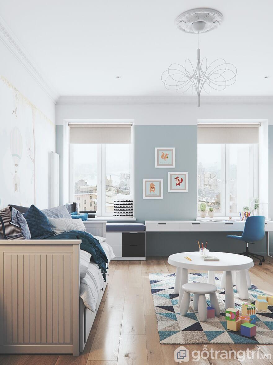 Yêu cầu thiết kế mẫu nội thất Mipec Rubik 360 3 phòng ngủ