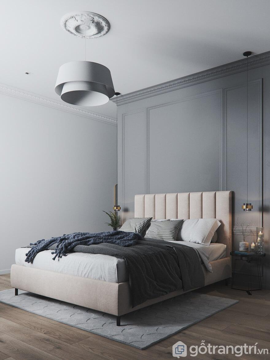 Mẫu nội thất Mipec Rubik 360 3 phòng ngủ: Phòng ngủ master