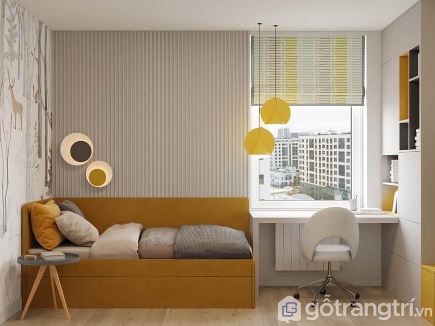 Phòng ngủ dành cho bé trai