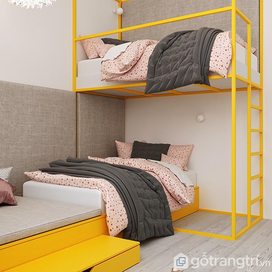 Phòng ngủ đơn giản nhưng đầy tiện nghi