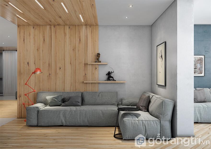 Mẫu thiết kế nội thất Mipec Rubik 360: Mộc mạc (Rustic)