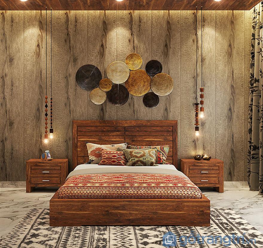 Mua giường ngủ giá rẻ ở HN bằng gỗ