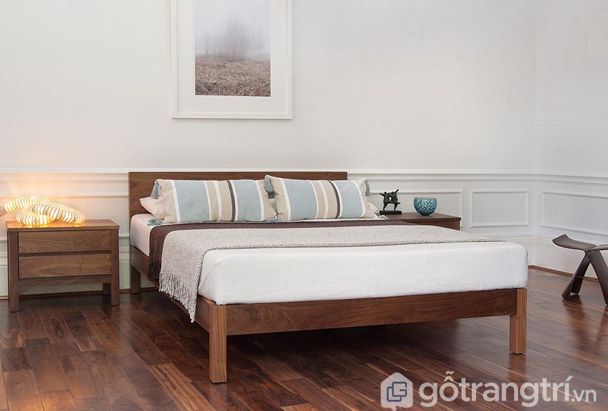 Mua giường ngủ giá rẻ ở HN gỗ lim