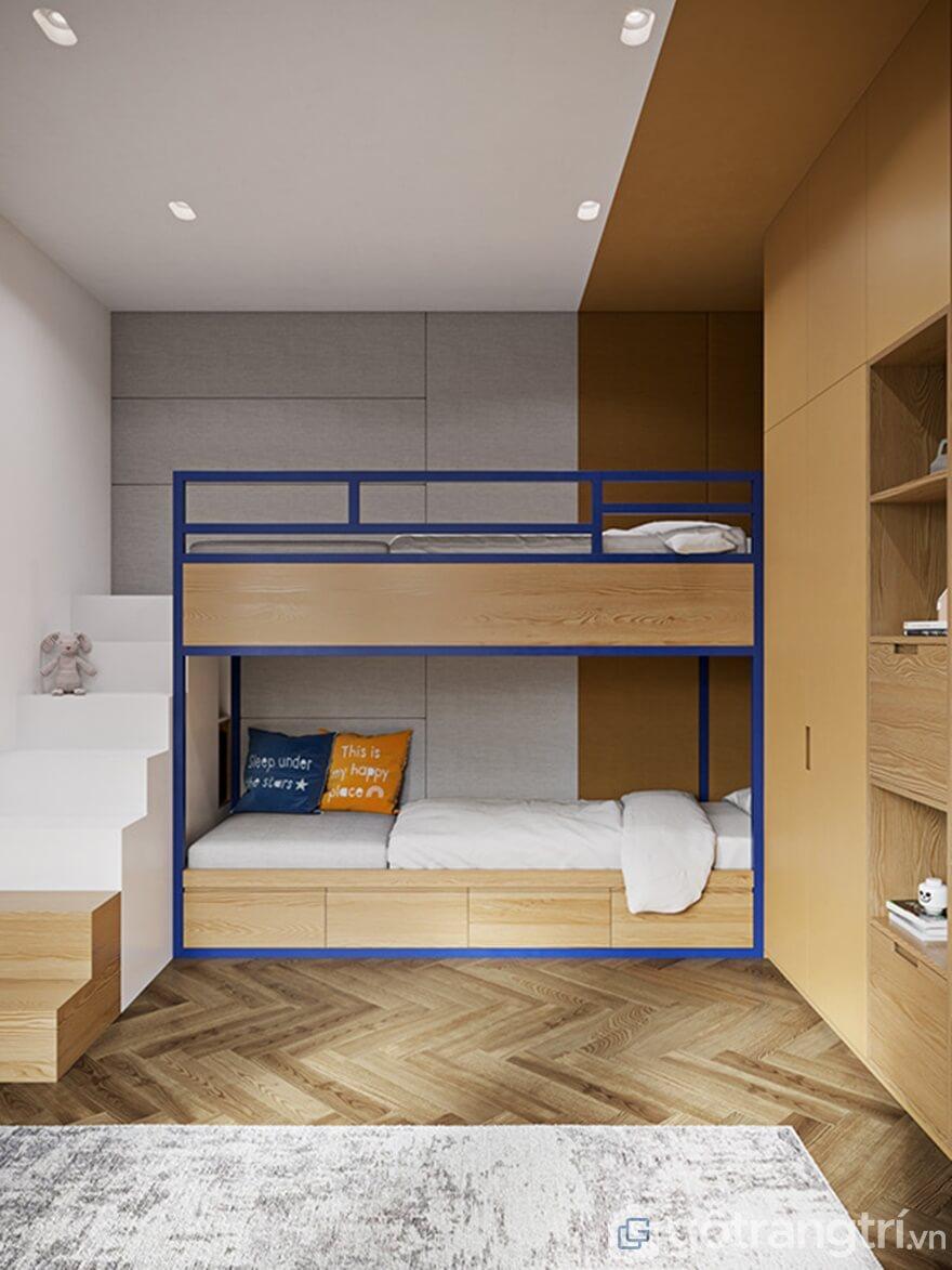 Thiết kế nội thất phòng ngủ cho con