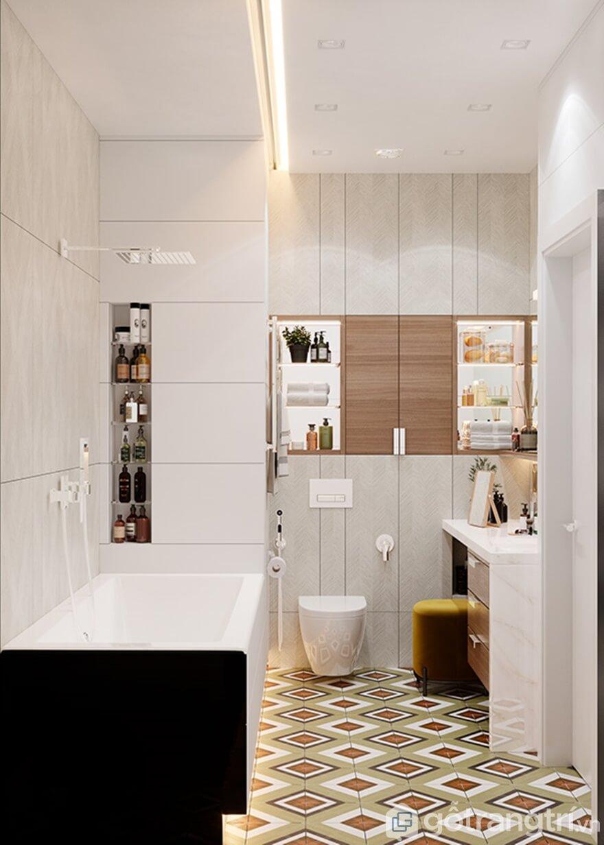 Phong cách thiết kế nội thất hiện đại Mipec Rubik 360: Phòng bếp