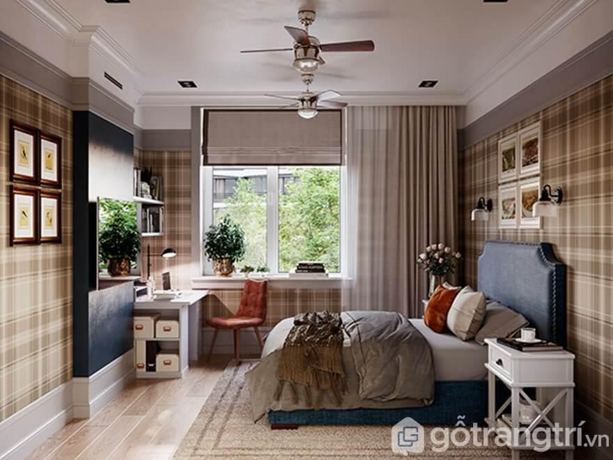 Phong cách thiết kế nội thất hiện đại Mipec Rubik 360: Phòng ngủ