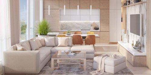 Tìm hiểu phong cách thiết kế nội thất hiện đại Mipec Rubik 360