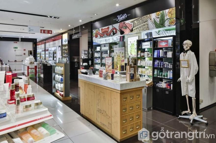 Thiết kế khu vực quầy bán, khu vực nghỉ chân của khách hàng