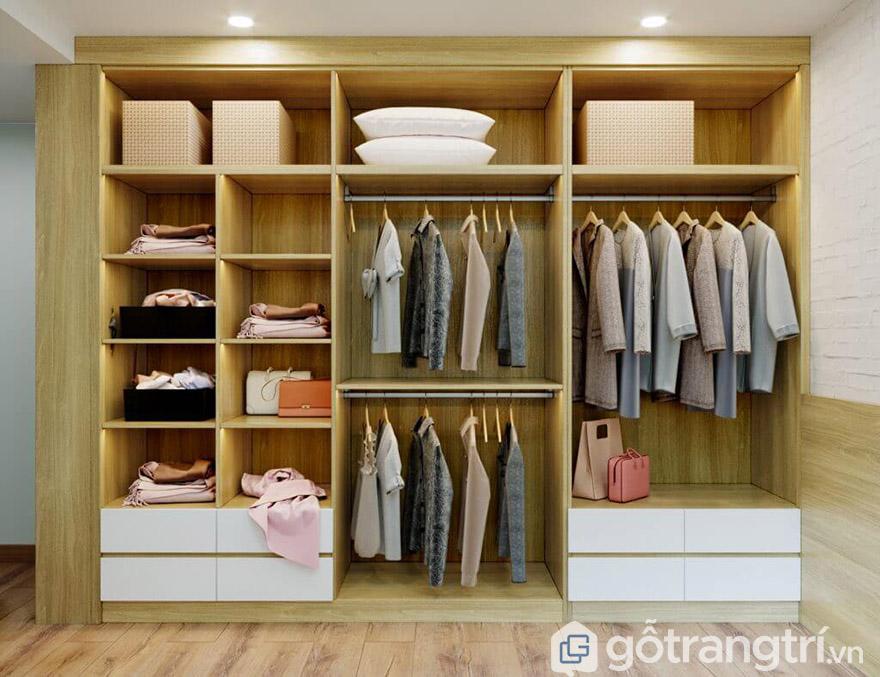 tủ quần áo gỗ công nghiệp giá rẻ hà nội