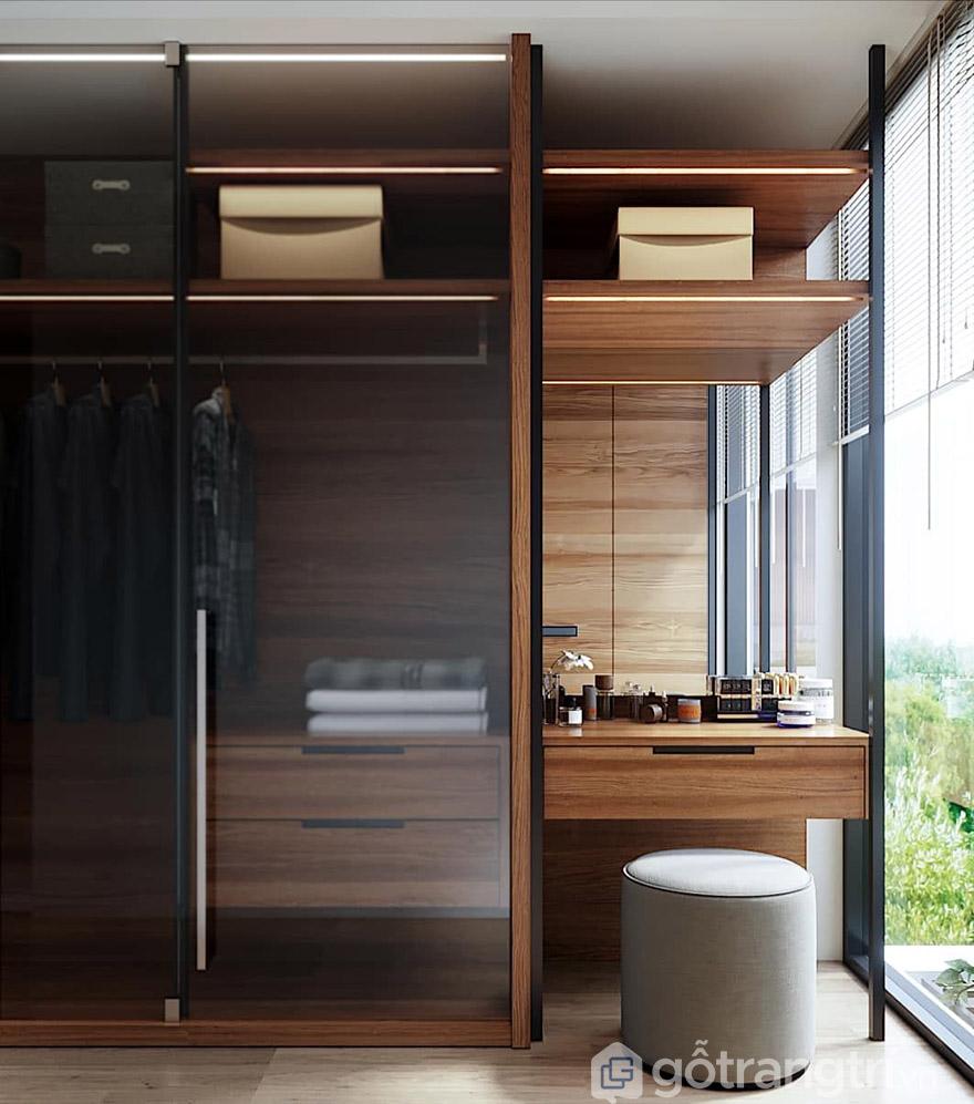 Tủ quần áo gỗ Hà Nội đa năng