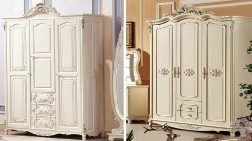 Tủ quần áo hoàng gia - Sức hút đến từ vẻ đẹp đậm chất quý tộc