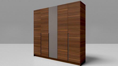Tủ quần áo cửa lùa gỗ tự nhiên- Sự lựa chọn hoàn hảo của bạn