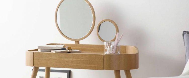 bàn trang điểm gỗ hương