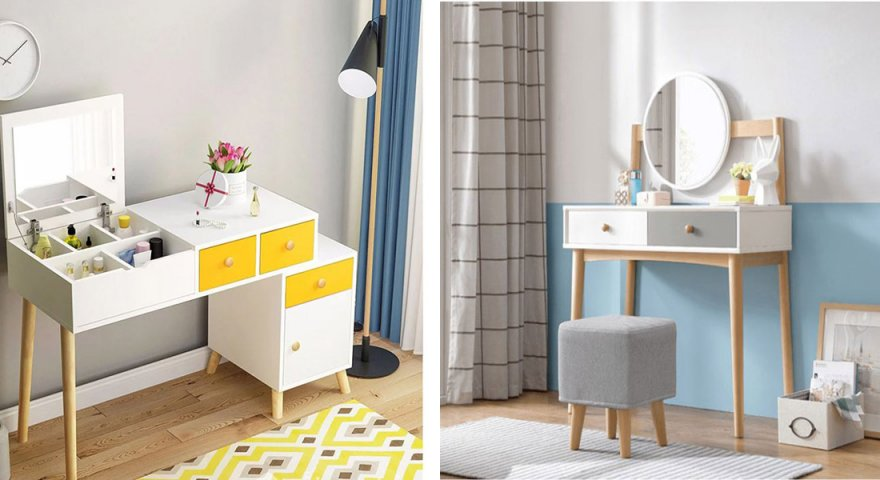 Các mẫu bàn trang điểm cho phòng ngủ