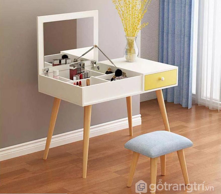 Các mẫu bàn trang điểm trong phòng ngủ nhỏ