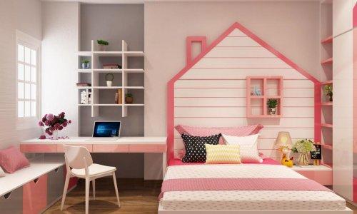 Cách bố trí bàn học trong phòng ngủ