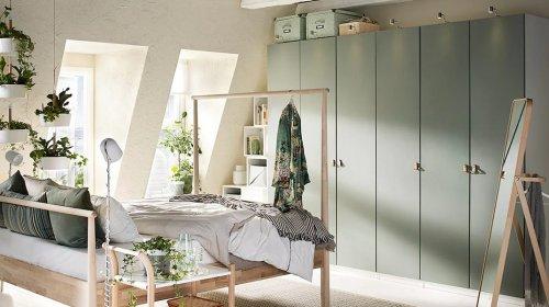 cách đặt tủ quần áo trong phòng ngủ