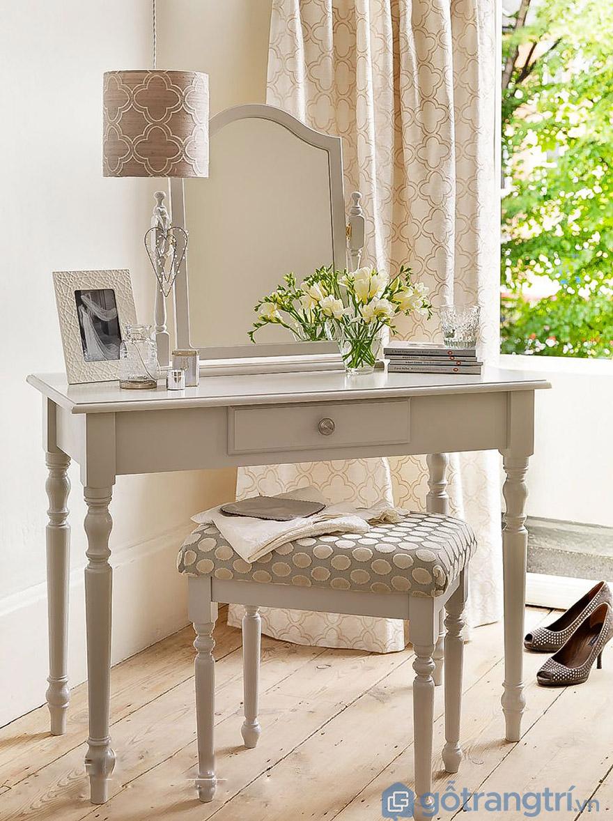 Ghế bàn trang điểm tân cổ điển