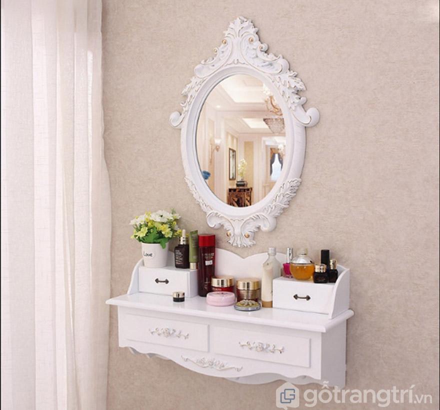 gương bàn trang điểm treo tường
