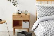 Lý giải sức hút đến từ kệ đầu giường gỗ tự nhiên trong nội thất