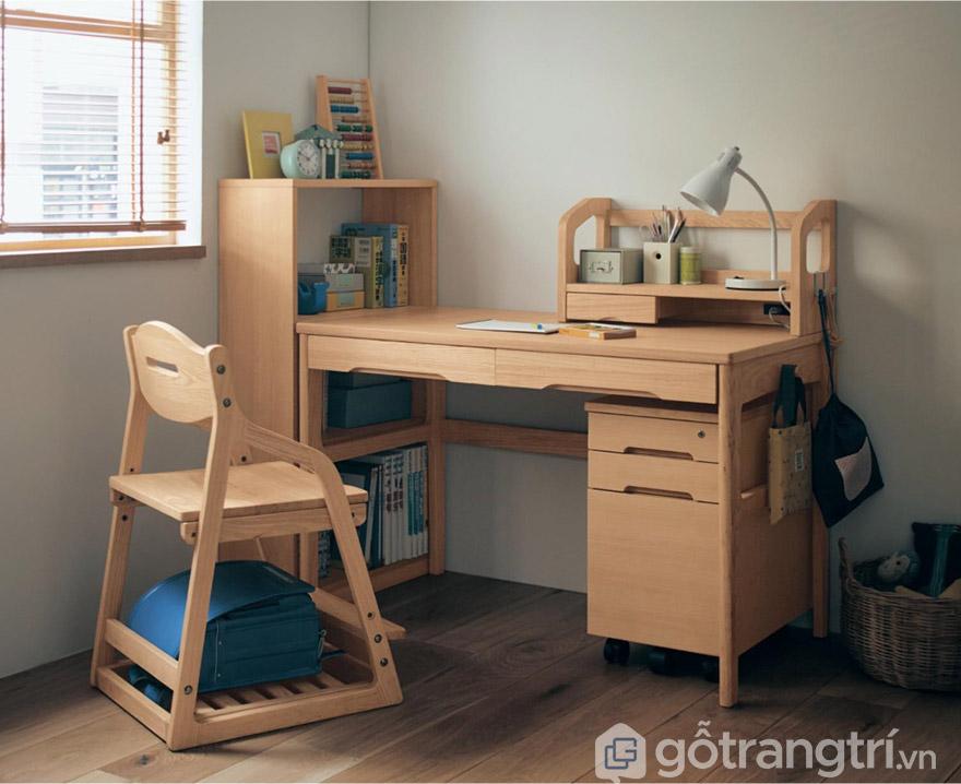 Kích thước bàn học cho trẻ mầm non tiêu chuẩn