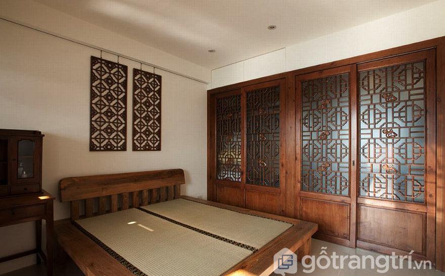 Tủ quần áo gỗ xoan đào 5 buồng Hà Nội
