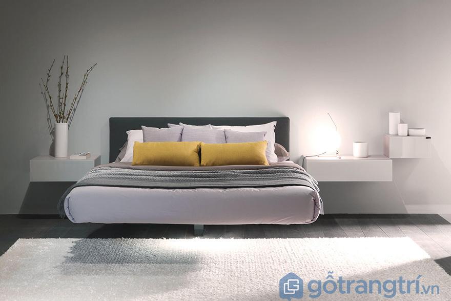 Tủ đầu giường treo tường