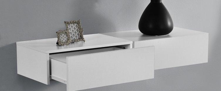 Tủ đầu giường treo tường hiện đại