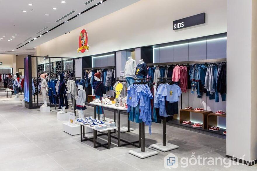 Shop thời trang trẻ em hiện đại