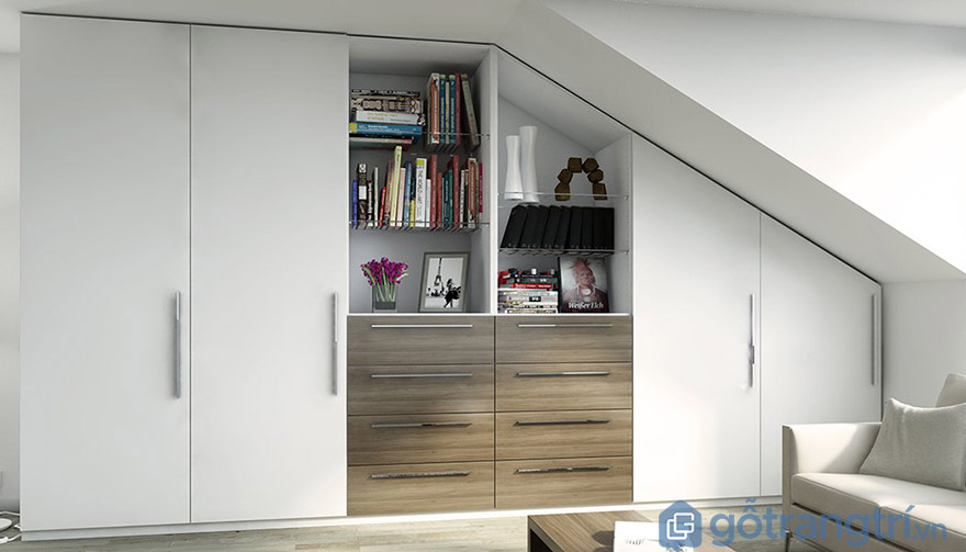 Thiết kế tủ quần áo cho phòng ngủ nhỏ