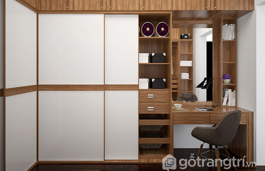 thiết kế tủ quần áo đa năng
