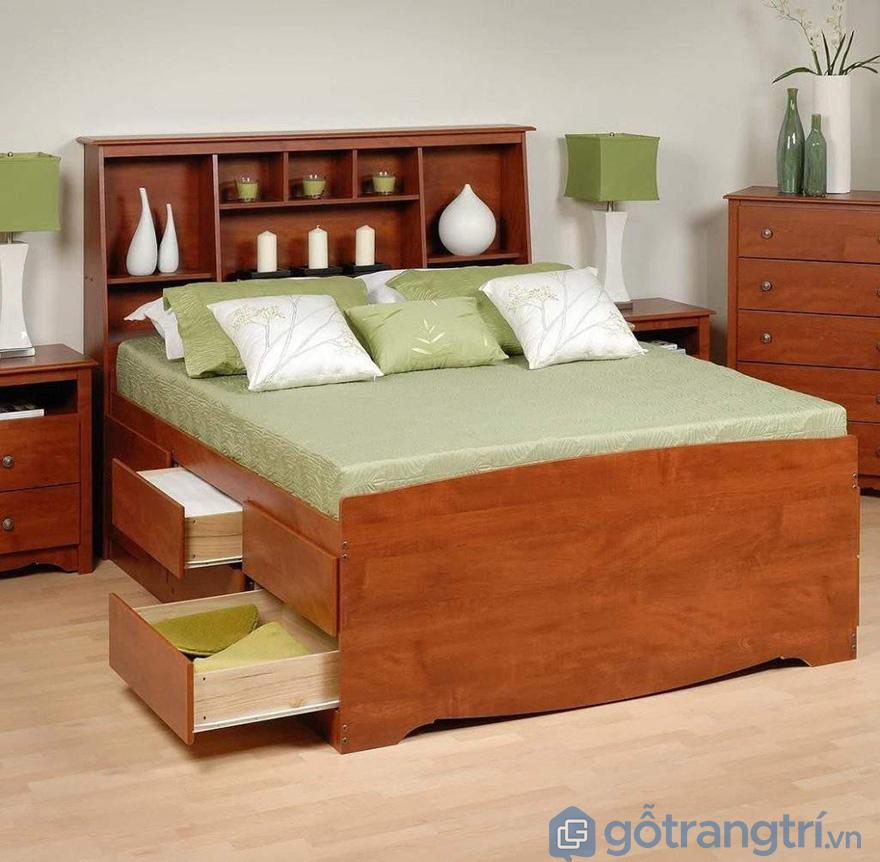 Tủ đầu giường gỗ hương chắc chắn và bền lâu
