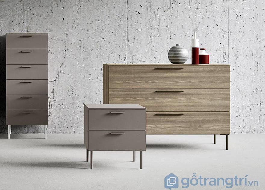 Tủ gỗ nhỏ nhiều ngăn