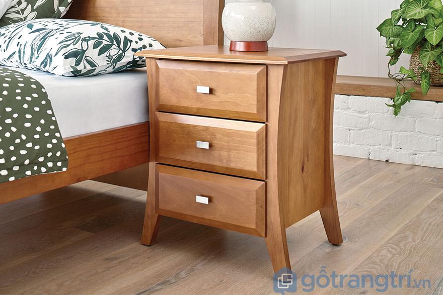 Tủ gỗ nhỏ nhiều ngăn tiện dụng cho gia đình