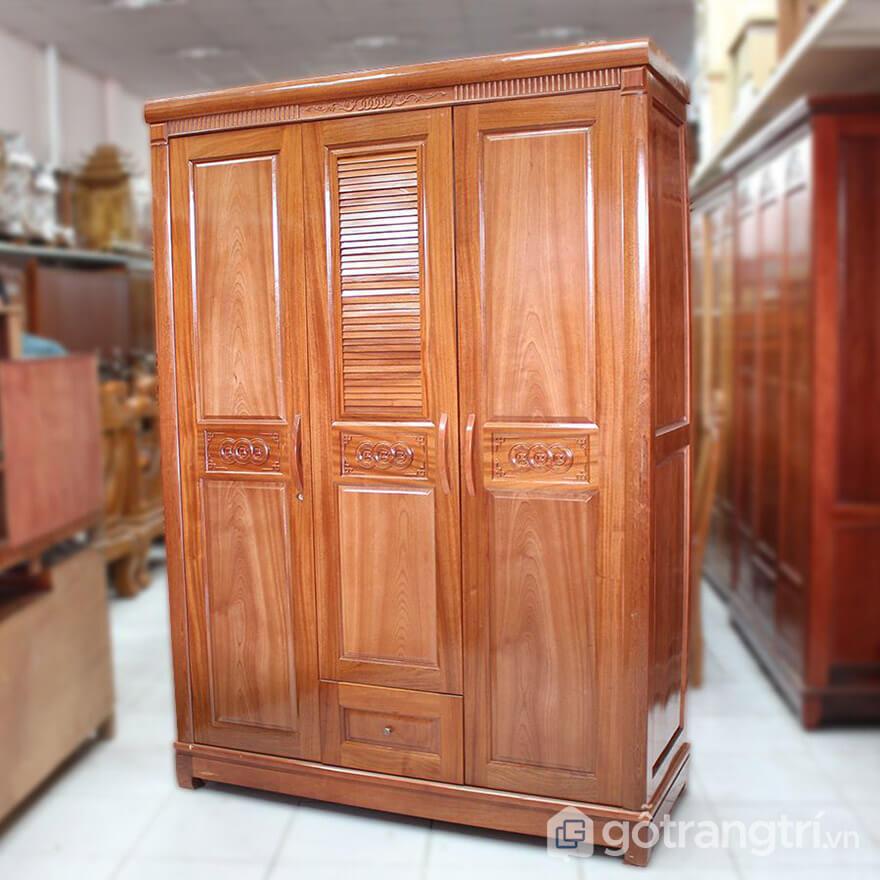 tủ gỗ xoan đào