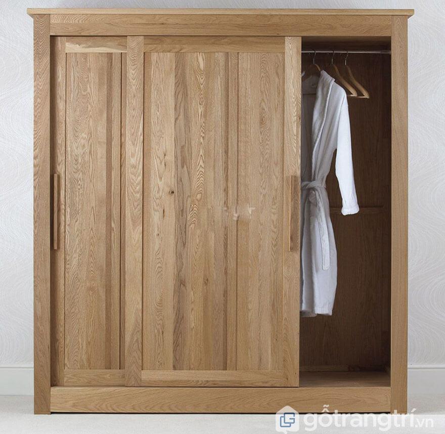 Tủ quần áo cửa lùa 1m4 hiện đại