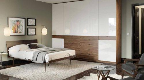 Các mẫu tủ quần áo gỗ xoan đào 5 buồng cực sịn