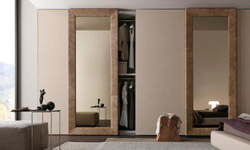 tủ quần áo gỗ xoan đào cửa lùa