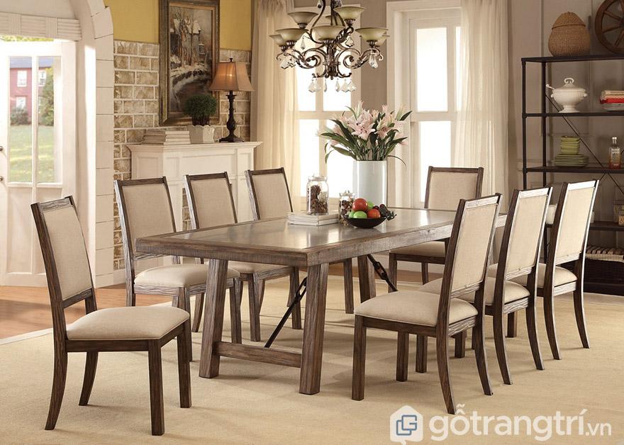 bàn ăn 8 ghế