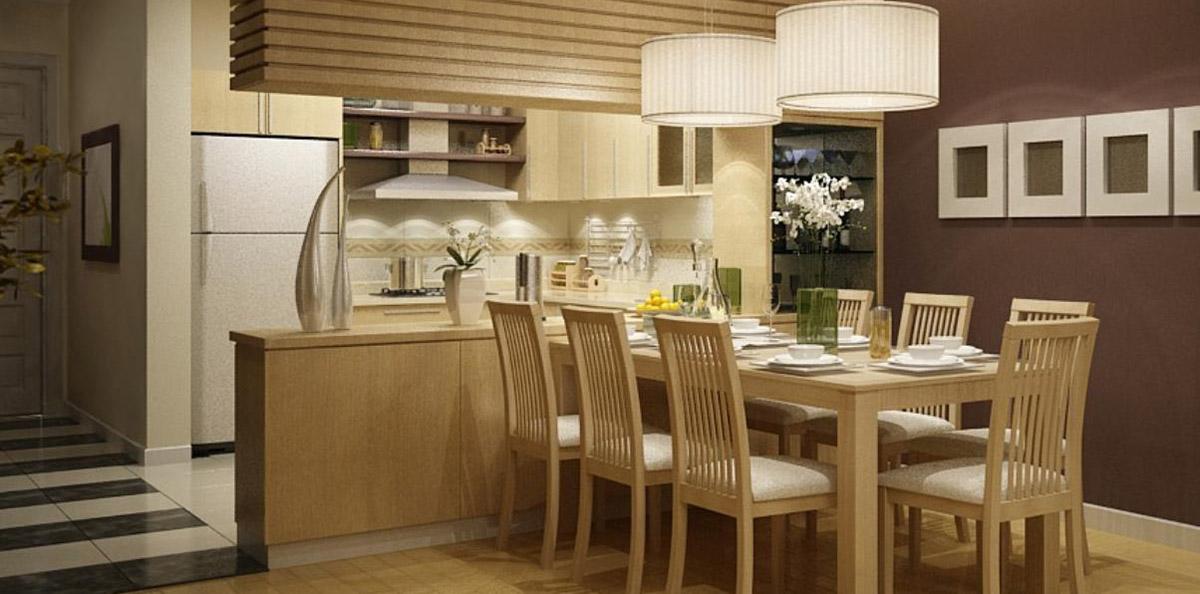 10 bộ bàn ghế ăn gỗ sồi Nga đơn giản, hiện đại đáng sở hữu