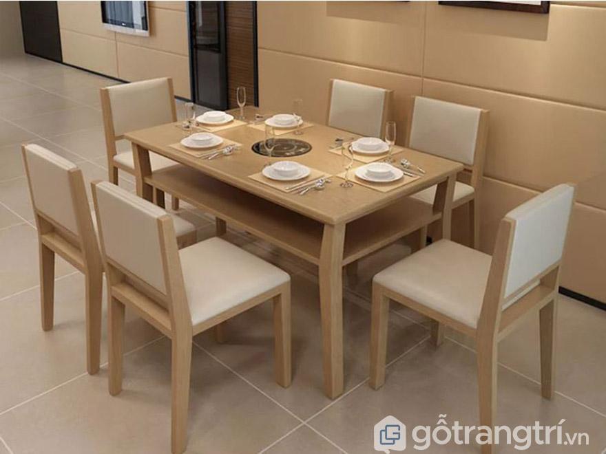 bàn ghế ăn gỗ sồi Nga