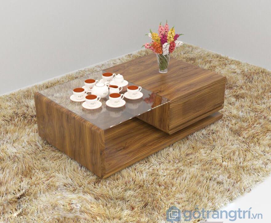 bàn trà gỗ tự nhiên hà nội
