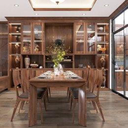 Kinh nghiệm chọn địa chỉ bán tủ rượu gỗ tự nhiên chất lượng