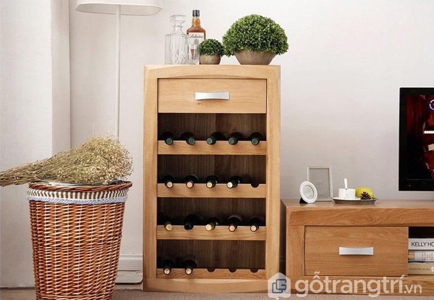 bán tủ rượu gỗ tự nhiên