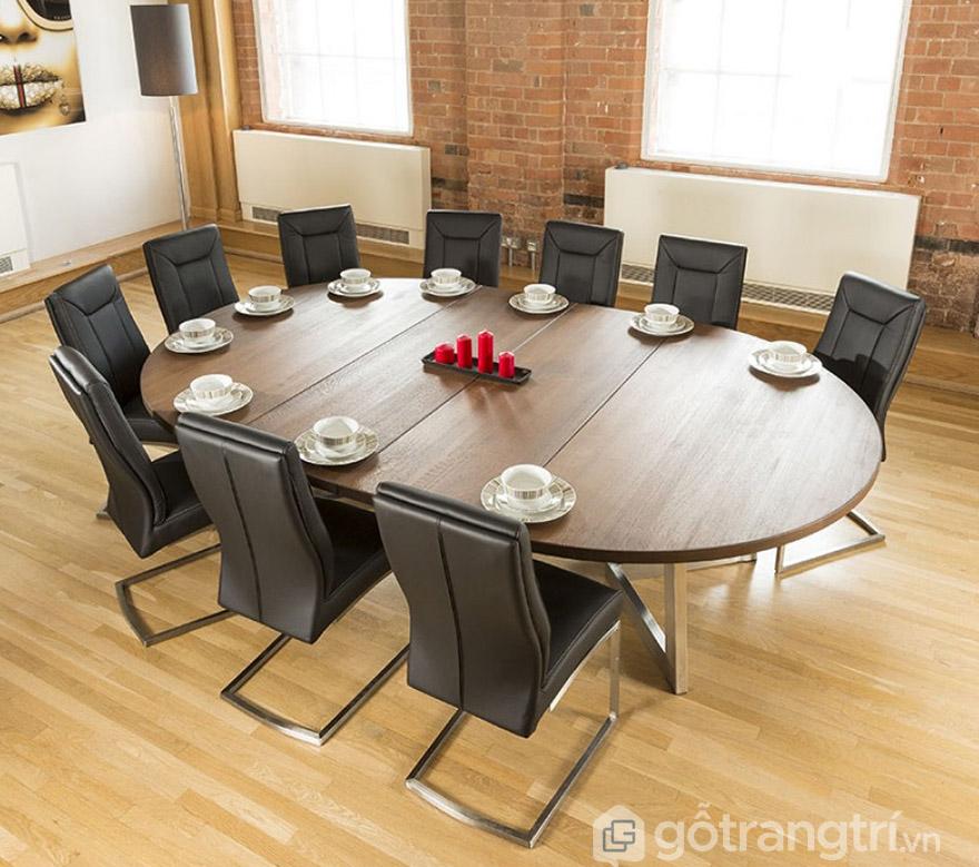 bộ bàn ăn 10 ghế giá rẻ