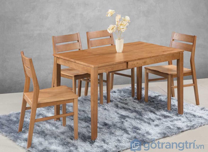 Bộ bàn ăn 4 ghế Hà Nội đẹp