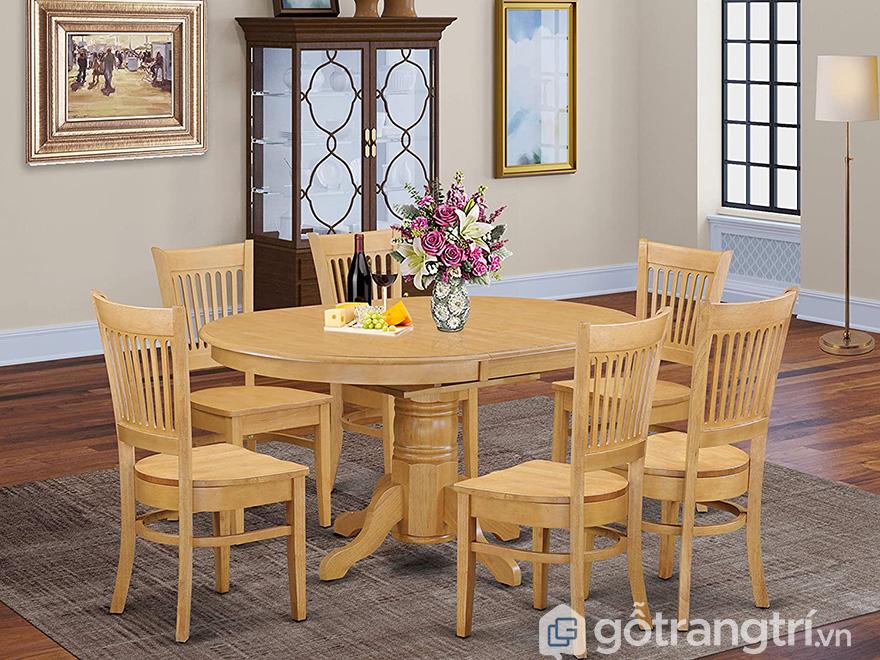 Bộ bàn ăn 6 ghế giá rẻ Hà Nội